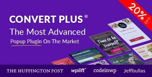 ConvertPlus v3.5.1 - Popup Plugin For WordPress