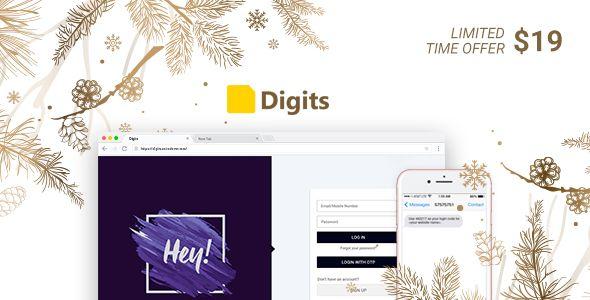 Digits v6.3.1 - WordPress Mobile Number Signup And Login