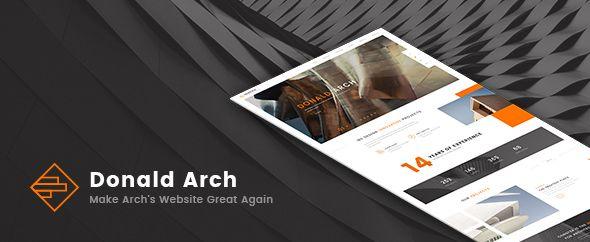Donald Arch v1.0.7 - Creative Architecture Theme