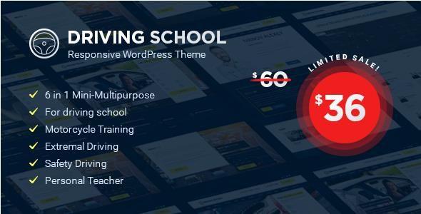 Driving School v1.4.0 - WordPress Theme