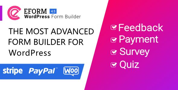 eForm v4.5.2 - WordPress Form Builder