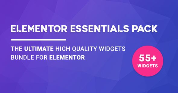 Elementor Essentials Pack v2.10.1 - Ultimate Widgets Bundle