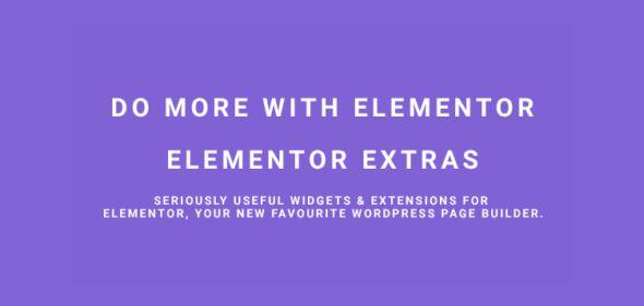 Elementor Extras v1.9.14 - Do More With Elementor