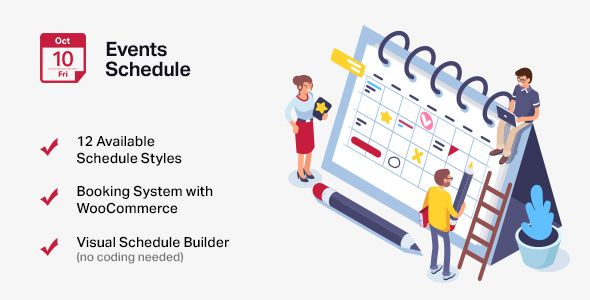 Events Schedule v2.5.5 - Events WordPress Plugin