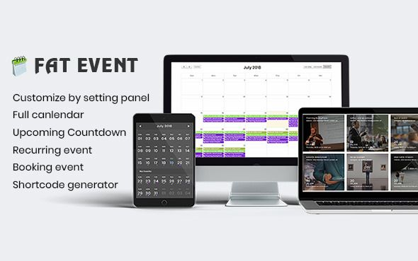 FAT Event v1.1.1 - WordPress Event And Calendar Booking