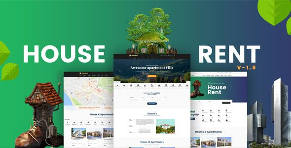 HouseRent v1.6.1 - Multi Concept Rental WordPress Theme
