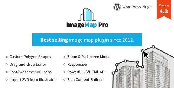 CodeCanyon - Image Map Pro for WordPress v4.3.1 - Interactive Image Map Builder