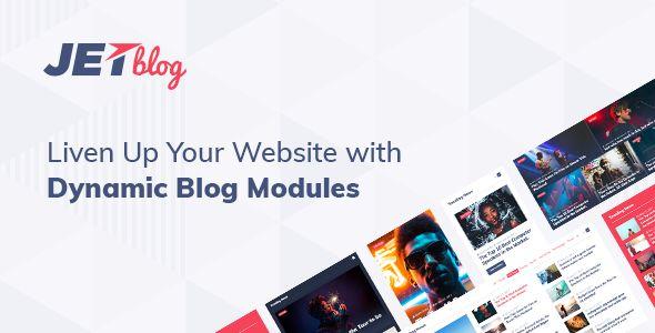 JetBlog v2.1.3 - Blogging Package For Elementor Page Builder