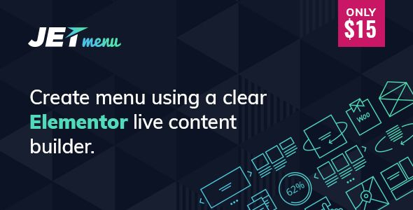 JetMenu v1.4.2 - Mega Menu for Elementor Page Builder