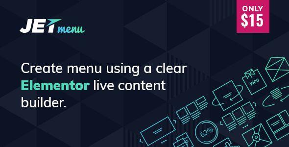 JetMenu v1.6.0 - Mega Menu For Elementor Page Builder