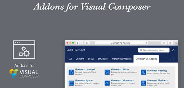 Livemesh - Addons For Visual Composer Pro v2.1.1