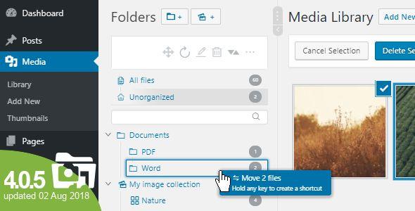 WP Real Media Library v4.0.5 - Media Categories / Folders