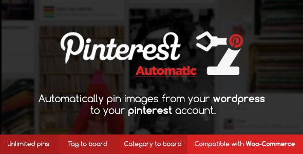 Pinterest Automatic Pin WordPress Plugin v4.10.0
