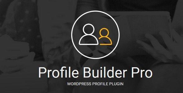 Profile Builder Pro v2.8.3 - WordPress Profile Plugin
