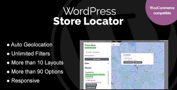 WordPress Store Locator v1.7.12