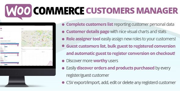 WooCommerce Customers Manager v21.4