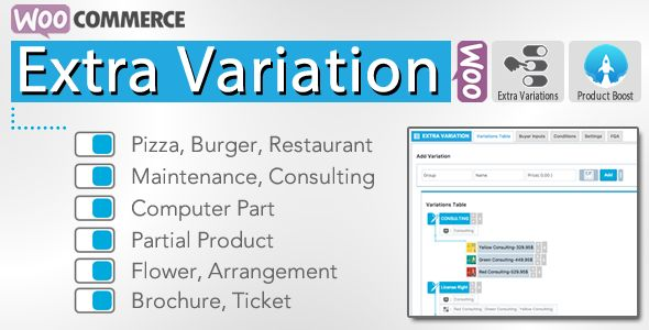 WooCommerce Extra Variation v3.0.3