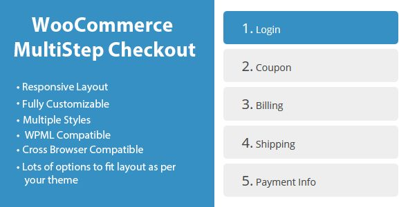 WooCommerce MultiStep Checkout Wizard v3.0