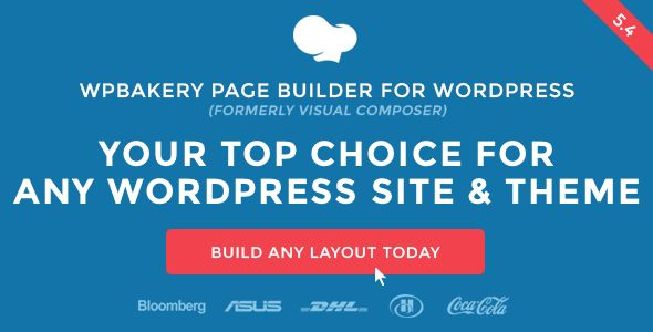 WPBakery Page Builder For WordPress v5.4.7